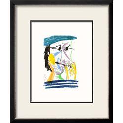 "Pablo Picasso ""Le Goût du Bonheur 17"" Custom Framed Screenprint"