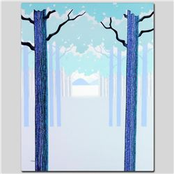 """""""Blue Morning"""" Limited Edition Giclee on Canvas by Larissa Holt, Protege of Acclaimed Artist Eyvind"""