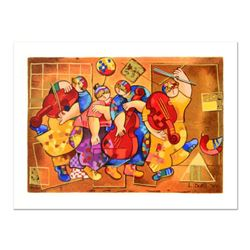 """Dorit Levi, """"Salsa Boogie"""" Limited Edition Serigraph, Numbered and Hand Signed with Certificate of A"""