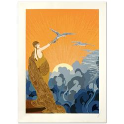 "Erte (1892-1990), ""Wings of Victory"" Limited Edition Serigraph, Numbered and Hand Signed with Certif"