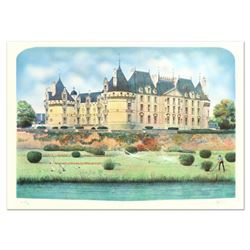 "Rolf Rafflewski, ""Chateau"" Limited Edition Lithograph, Numbered and Hand Signed."