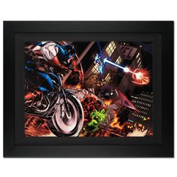 """""""Avengers: X-Sanction #1"""" Extremely Limited Edition Giclee on Canvas by Ed McGuinness and Marvel Com"""