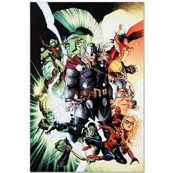 """""""Free Comic Book Day 2009 Avengers #1"""" Limited Edition Giclee on Canvas by Jim Cheung and Marvel Com"""