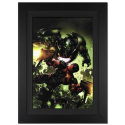 """""""Deadpool #3"""" Extremely Limited Edition Giclee on Canvas (28"""" x 39"""") by Clayton Crain and Marvel Com"""