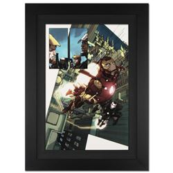 """""""Iron Man 2.0 #1"""" Extremely Limited Edition Giclee on Canvas by Barry Kitson and Marvel Comics. Numb"""