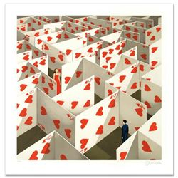 """""""Illusive Specificity of Random Compliments"""" Limited Edition Hand Pulled Original Lithograph by Rafa"""