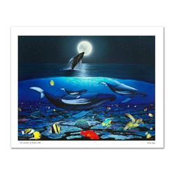 """""""The Living Sea"""" Limited Edition Giclee on Canvas by Renowned Artist Wyland, Numbered and Hand Signe"""