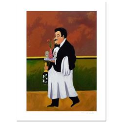 "Guy Buffet - ""Monsieur Pierre"" Limited Edition Serigraph; Numbered and Hand Signed with Certificate"