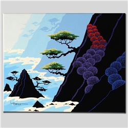 """""""Haystack Isle"""" Limited Edition Giclee on Canvas by Larissa Holt, Protege of Acclaimed Artist Eyvind"""