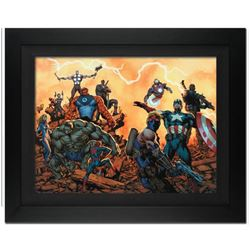 """""""Ultimate Comics: Avengers #1"""" Extremely Limited Editon Giclee on Canvas by Carlos Pacheco and Marve"""