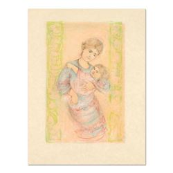 """Edna Hibel (1917-2014), """"Fair Alice and Baby"""" Limited Edition Lithograph on Rice Paper, Numbered and"""