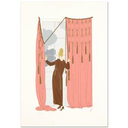 """Erte (1892-1990) - """"Cloudy Morning"""" Limited Edition Serigraph, Numbered and Hand Signed with Certifi"""