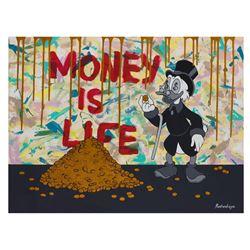 "Nastya Rovenskaya- Original Oil on Canvas ""Money is Life"""