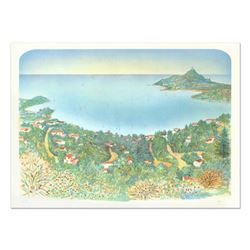 """Rolf Rafflewski, """"Agay"""" - Limited Edition Lithograph, Numbered and Hand Signed."""