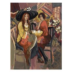 """Isaac Maimon - """"Reunion"""" Limited Edition Serigraph, Numbered and Hand Signed with Certificate of Aut"""