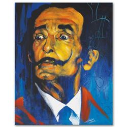"""""""Dali"""" Limited Edition Giclee on Canvas by Stephen Fishwick, Numbered and Signed with Certificate of"""