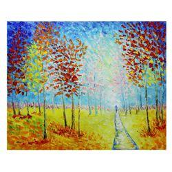 """Svyatoslav Shyrochuk- Original Oil on Canvas """"Summertime"""""""