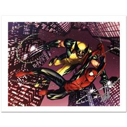 """Astonishing Spider-Man & Wolverine #1"" Limited Edition Giclee on Canvas by Adam Kubert and Marvel C"