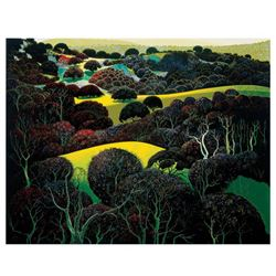 "Eyvind Earle (1916-2000), ""Santa Ynez Memories"" Limited Edition Serigraph on Paper; Numbered & Hand"