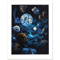 """All the World's Children"" Limited Edition Serigraph by William Schimmel, Numbered and Hand Signed b"