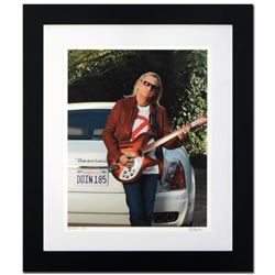 """Joe Walsh"" Limited Edition Giclee by Rob Shanahan, Numbered and Hand Signed with Certificate of Aut"