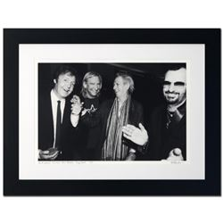 """Paul McCartney, Joe Walsh, Keith Richards & Ringo Starr"" Limited Edition Giclee by Rob Shanahan, Nu"