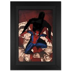 """Fear Itself: Spider-Man #1"" Extremely Limited Edition Giclee on Canvas (28"" x 39"") by Marko Djurdje"