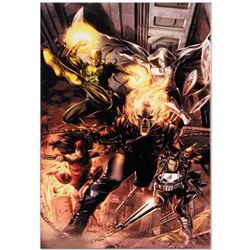 """""""Heroes For Hire #1"""" Limited Edition Giclee on Canvas by Doug Braithwaite and Marvel Comics, Numbere"""