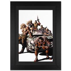 """""""New Avengers #10"""" Extremely Limited Edition Giclee on Canvas by Mike Deodato Jr. and Marvel Comics."""