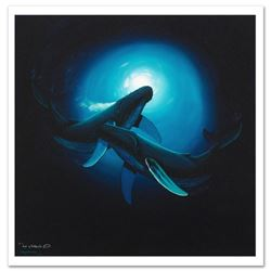 """""""Sea Dance"""" Limited Edition Giclee on Canvas by Renowned Artist Wyland, Numbered and Hand Signed wit"""