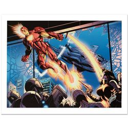 """""""Ultimatum: Spider-Man Requiem #1"""" Limited Edition Giclee on Canvas by Mark Bagley and Marvel Comics"""