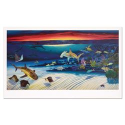 """Wyland, """"Sea Life Below"""" Limited Edition Lithograph, Numbered and Hand Signed with Certificate of Au"""