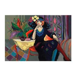 """Isaac Maimon - """"Amanda"""" Limited Edition Serigraph, Numbered and Hand Signed with Certificate of Auth"""