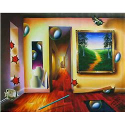 "Ferjo ""DREAMLIKE CORRIDOR"" Giclee on Canvas"