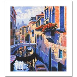 """Magic of Venice III"" Limited Edition Hand Embellished Giclee on Canvas by Howard Behrens (1933-2014"