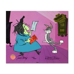 "Chuck Jones ""Rabbit Recipes"" Hand Signed, Hand Painted Limited Edition Sericel."