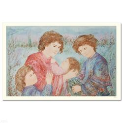 """Early Spring"" Limited Edition Serigraph by Edna Hibel (1917-2014), Numbered and Hand Signed with Ce"