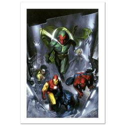 """Secret Invasion #2"" Limited Edition Giclee on Canvas by Gabriele Dell'Otto and Marvel Comics. Numbe"