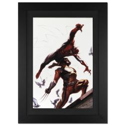 """Secret Invasion #7"" Extremely Limited Edition Giclee on Canvas by Gabriele Dell'Otto and Marvel Com"