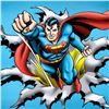 """Image 2 : """"Superman Fist Forward"""" Numbered Limited Edition Giclee from DC Comics with Certificate of Authentic"""