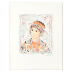 "Edna Hibel (1917-2014), ""Pierre"" Limited Edition Lithograph, Numbered 25/60 and Hand Signed with Cer"