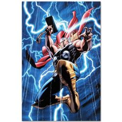 """Marvel Adventures: Super Heroes #2"" Limited Edition Giclee on Canvas by Clayton Henry and Marvel Co"