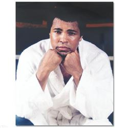 Licensed Photograph of Heavyweight Champ Muhammad Ali.
