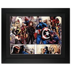 """Fear Itself #7"" Extremely Limited Edition Giclee on Canvas by Stuart Immonen and Marvel Comics. Num"