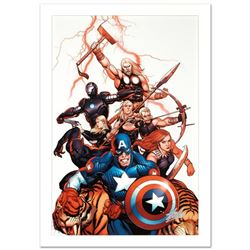 """Ultimate New Ultimates #5"" Limited Edition Giclee on Canvas by Frank Cho and Marvel Comics. Numbere"