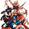 """Image 2 : """"Ultimate New Ultimates #5"""" Limited Edition Giclee on Canvas by Frank Cho and Marvel Comics. Numbere"""