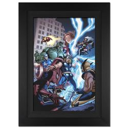 """Marvel Adventures: The Avengers #31"" Extremely Limited Edition Giclee on Canvas by Salva Espin and"