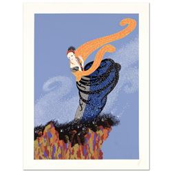"Erte (1892-1990), ""Summer Breeze"" Limited Edition Serigraph, Numbered and Hand Signed with Certifica"