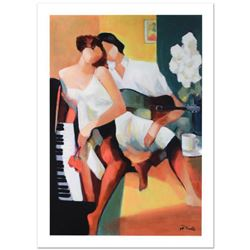 Romantic Courtship  Limited Edition Giclee on Canvas (24  x 36 ) by Yunessi Gholam, Numbered Invers