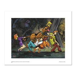"""Scooby Snacks"" Numbered Limited Edition Giclee from Hanna-Barbera with Certificate of Authenticity."